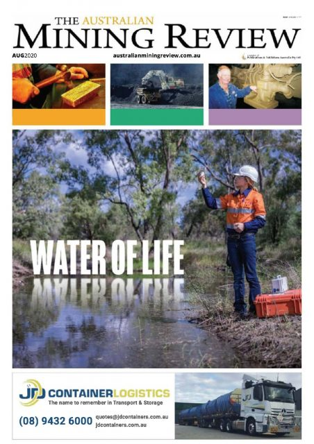 Australian Mining Review August 2020 cover